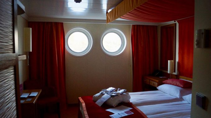 Unsere Kabine auf Deck 1