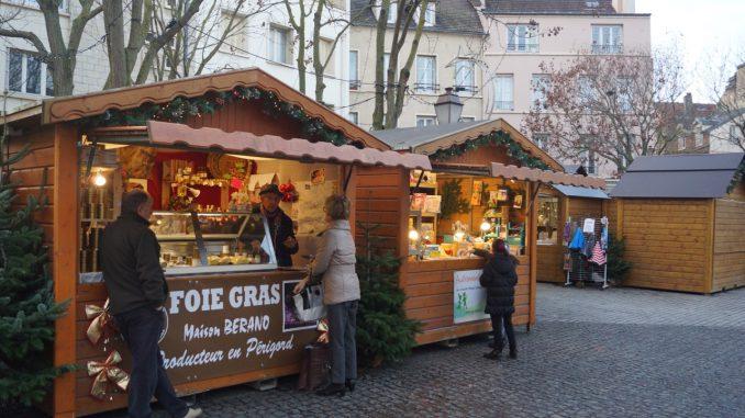 Weihnachtsmarkt in Mantes-la-Jolie