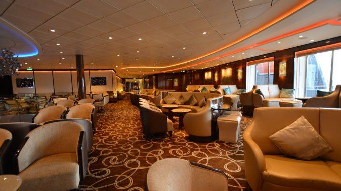 Die Schau Bar liegt direkt über dem Restaurant Atlantik