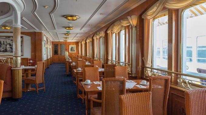 Blick in das Lido Buffetrestaurant