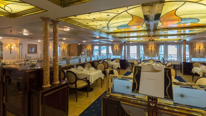 Das Restaurant Vier Jahreszeiten