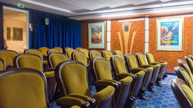 Das Kino der MS Deutschland