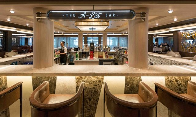 Die A-List Bar ist benannt nach Andy Stuart