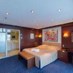 Schlafzimmer der Astor Suite