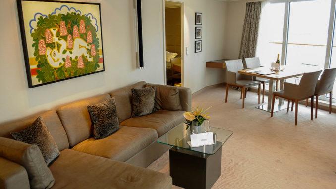 Viel Platz in der Penthouse Grand Suite