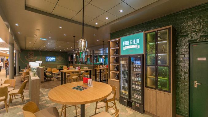 Die Ebbe und Flut Bier Bar ist ebenfalls neu