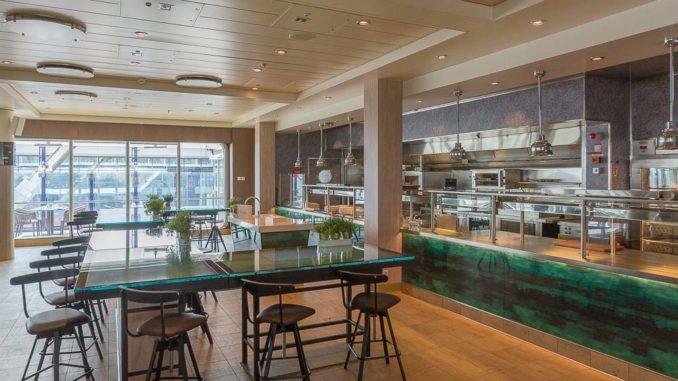 Blick in das Restaurant Manufaktur - Kreativ-Küche