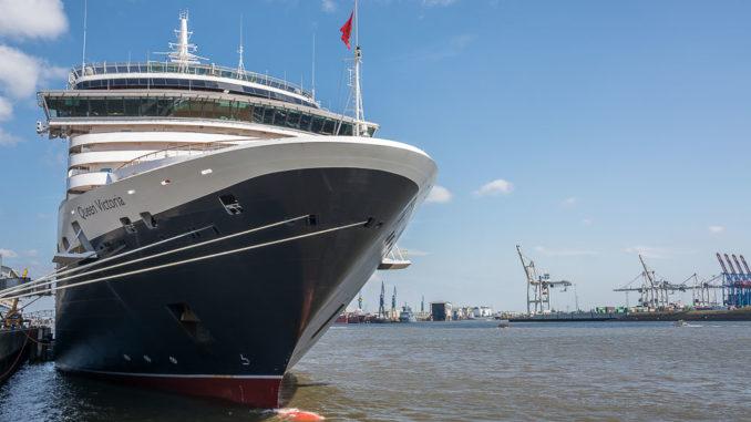Auch die Queen Victoria wird Gast in Kiel