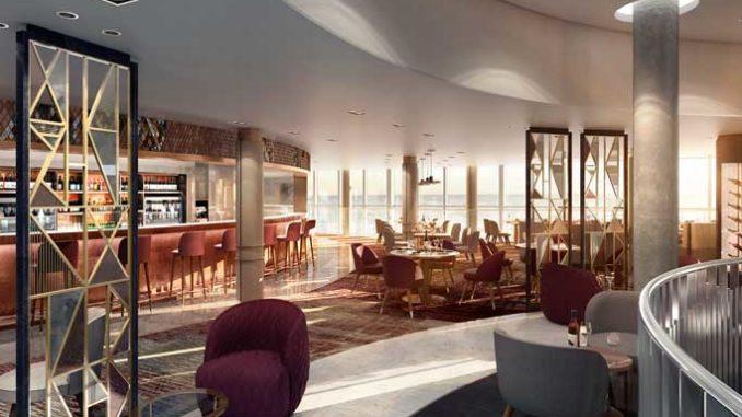 Das Glass House der Iona. Grafik: P&O Cruises