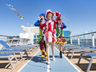 Der Jeckliner legt im April 2019 erstmals ab. Foto: TUI Cruises