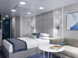 Neuer Look der Concierge Veranda Kabine. Foto: Oceania Cruises