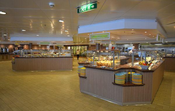 Das Buffetrestaurant Garden Café