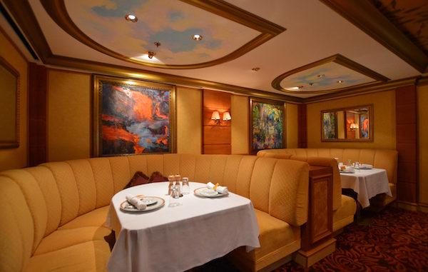 Das französische Spezialitätenrestaurant Le Bistro