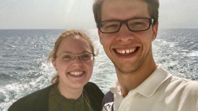 Spaziergang über das Bootsdeck der Norwegian Jade
