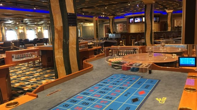 Einblick in das Casino Canal Grande