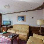 Wohnbereich der großen Suite 406