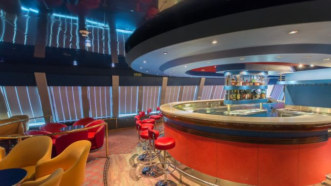 Die Bar in der Hamburg-Lounge