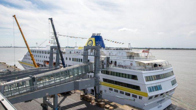 MS Hamburg Heckansicht