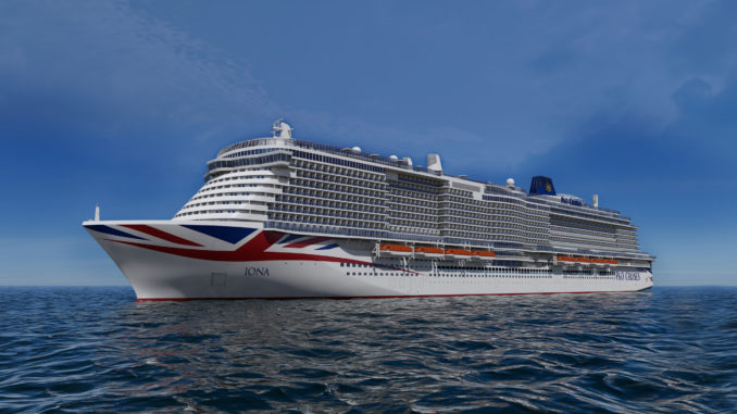 Die P&O Iona. Foto: P&O Cruises