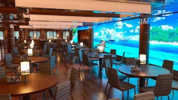 Das Yachtclub Restaurant. Foto: Christoph Assies