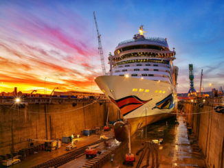 AIDAsol ist in Marseille modernisiert worden. Foto: AIDA Cruises