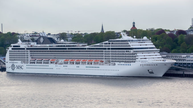 MSC Magnifica in Hamburg