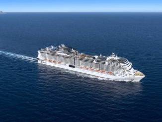 MSC Grandiosa. Grafik: MSC Cruises