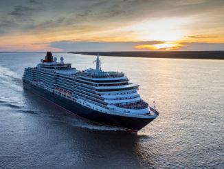 Cunards Queen Victoria startet heute ihre Weltreise. Foto: Christopher Ison
