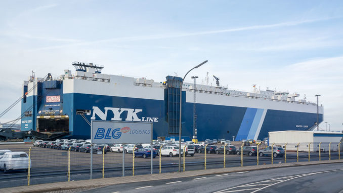 Car Carrier in Bremerhaven