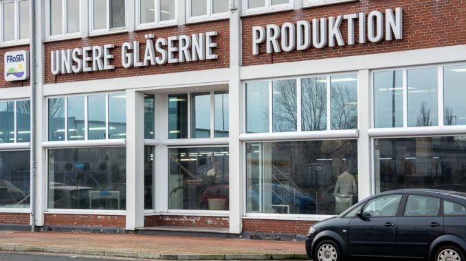 Die Gläserne Produktion bei Frosta