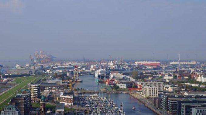 Ausblick auf Bremerhaven