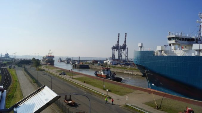 Ausblick vom Containerturm