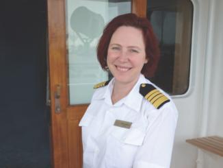 Kapitänin Serena Melani. Foto: Regent Seven Seas Cruises