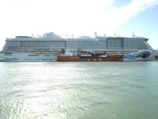 AIDAnova in Barcelona. Foto: AIDA Cruises