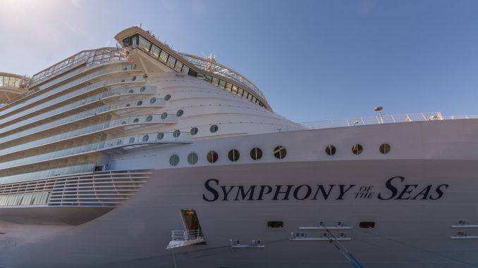 Symphony of the Seas in Barcelona