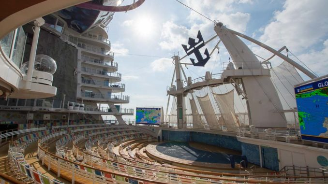 Das Aqua Theater der Symphony of the Seas