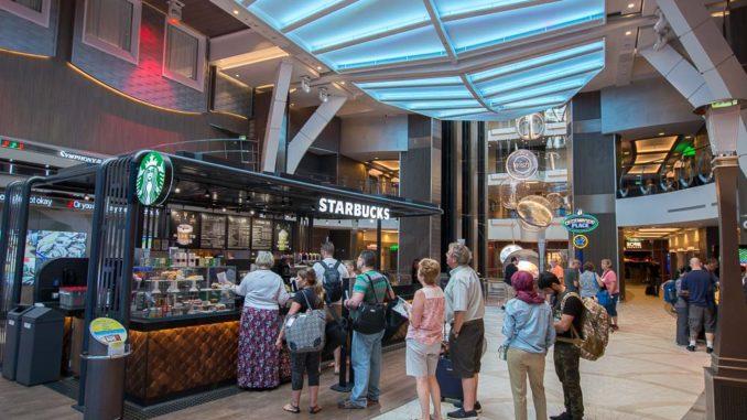 Starbuck's auf der Royal Promenade