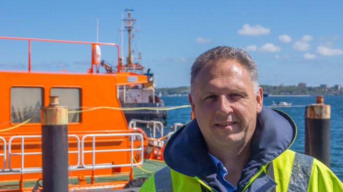 Lotse Martin Finnberg erklärt uns im Interview die Details seines Berufs