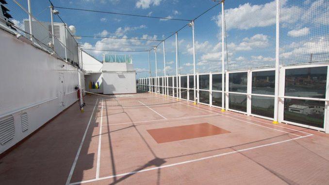 Sporbereich auf Deck 12