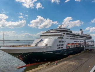 Die Vasco da Gama in Bremerhaven