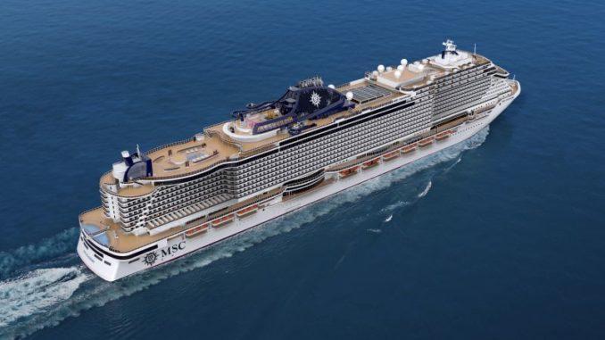 Die MSC Seashore ist nun buchbar. Grafik: MSC Cruises