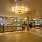 Blick in das Buffetrestaurant der Norwegian Pearl