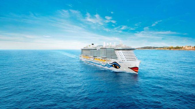 Das weltweit erste reine LNG Kreuzfahrtschiff: die AIDAnova. Foto: AIDA Cruises