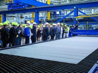 Mit dem Stahlschnitt hat der Bau der Costa Toscana begonnen. Foto: Meyer Turku