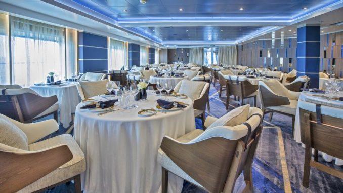 So zeigt sich nun das Restaurant Prime. Foto: Regent Seven Seas Cruises