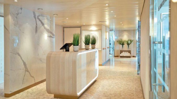 Auch der Spabereich wurde erneuert. Foto: Regent Seven Seas Cruises