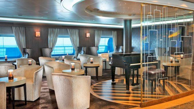 Die Navigator Lounge. Foto: Regent Seven Seas Cruises