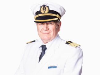 Kapitän Kjell Holm. Foto: TUI Group