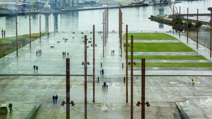 Die ehemalige Helling von Harland & Wolff