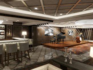 Take 5 heißt die erste Jazz-Lounge bei Princess Cruises. Grafik: Princess